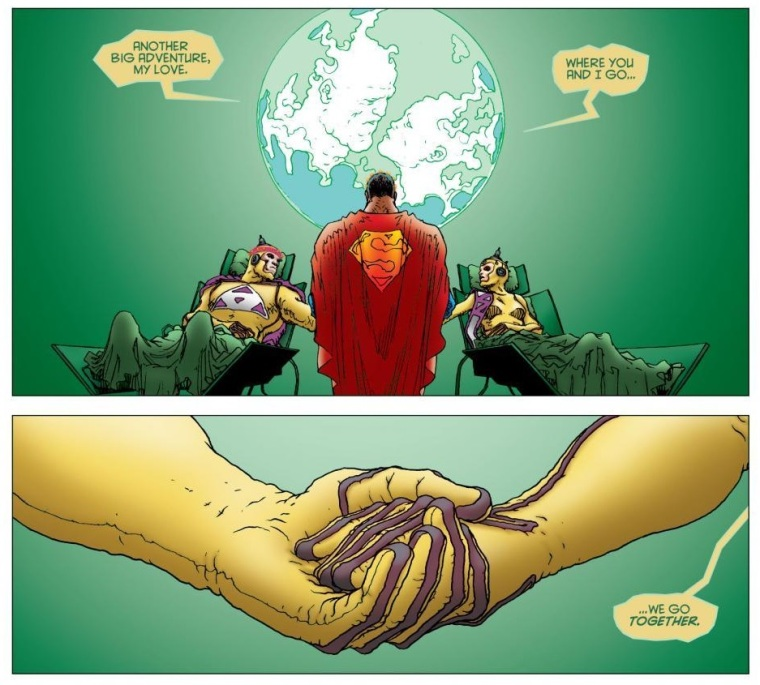 Frank Quitely and Grant Morrison's All-Star Superman -- Kryptonians