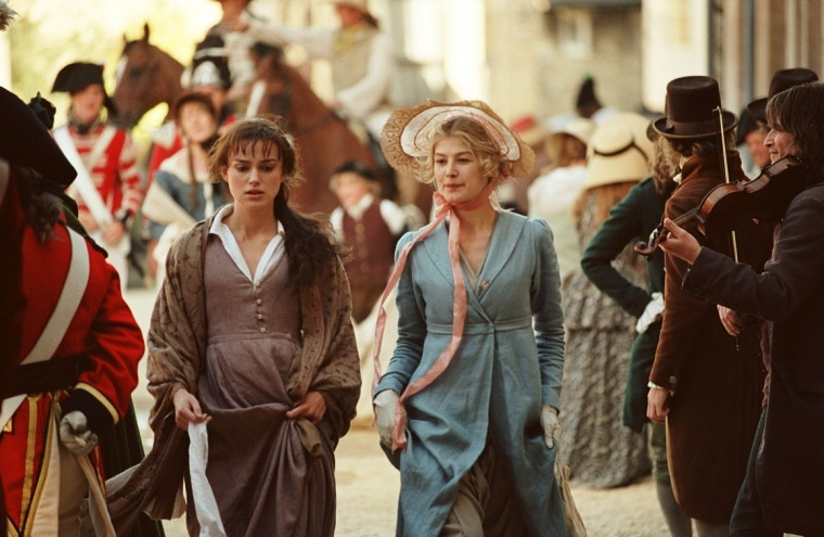 Pride and Prejudice - Keira Knightley and Rosamund Pike