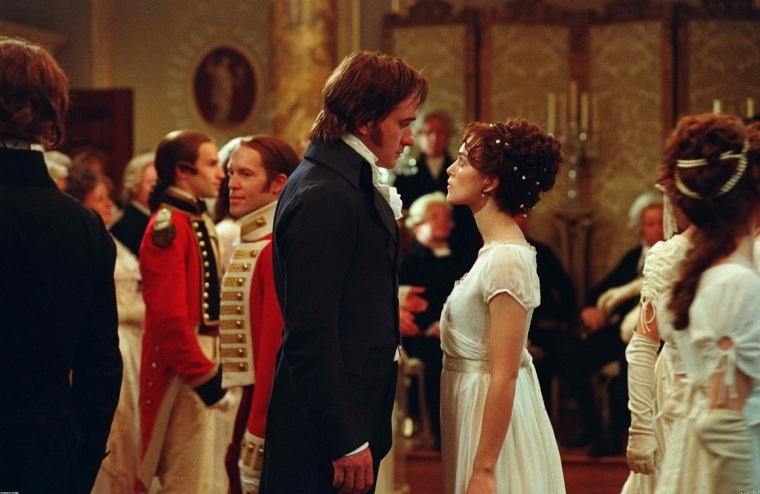 Pride and Prejudice - Mr Darcy and Elizabeth Square Off
