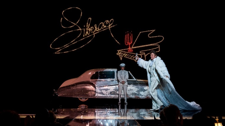 Steven Soderbergh's Behind the Candelabra - Liberace on Stage