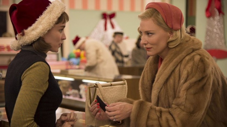 Todd Haynes' Carol -- Rooney Mara and Cate Blanchett Meet at the Store