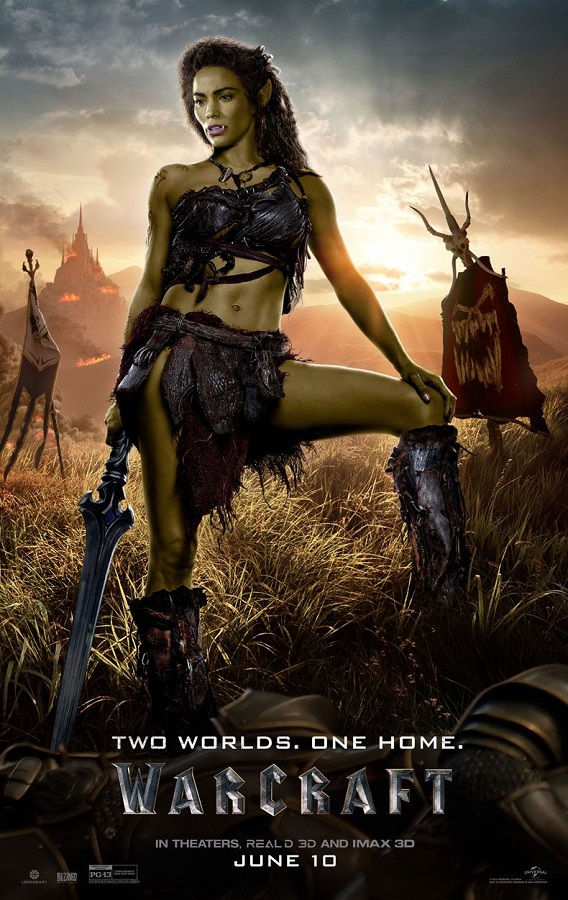 Duncan Jones' Warcraft -- Garona