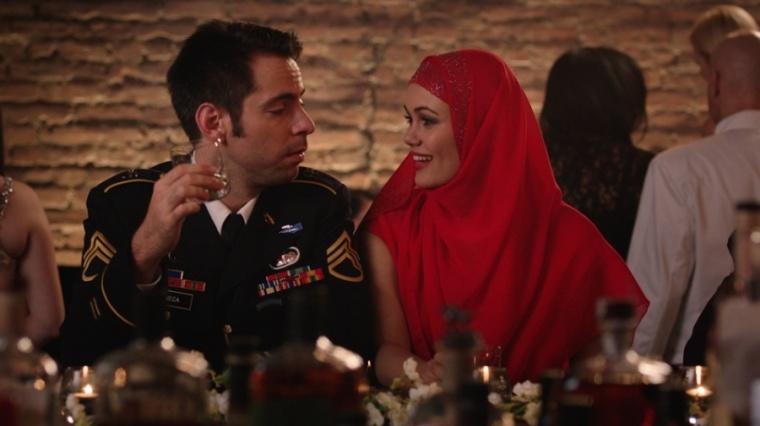 Sean Mullins' Amira and Sam - Martin Starr and Dina Shihabi