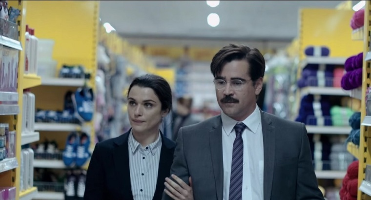 Yorgos Lanthimos' The Lobster -- Rachel Weisz and Colin Farrell